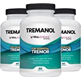 Tremanol Natural Aid for Essential Tremor - Provides Tremor Relief for Shaky Hands, Arm, Leg And Voice (Pack of 3 Of 60 Capsu