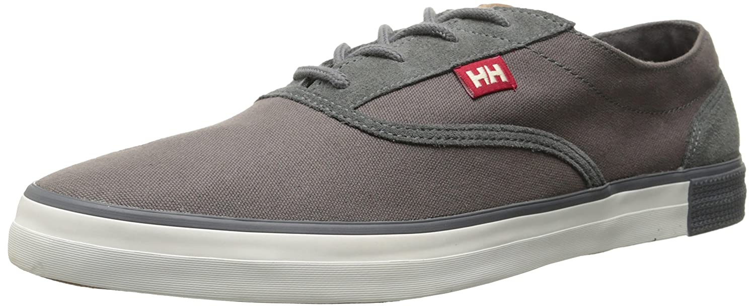 Helly Hansen Helly Hansen Men Karlshavn Canvas Shoe Mid Grey Charcoal Cheap Sale