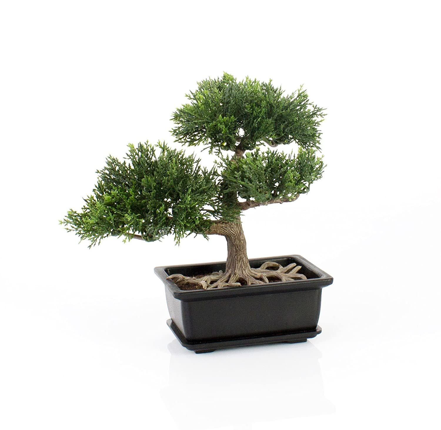 Artificial Bonsai Cedar in pot, 9