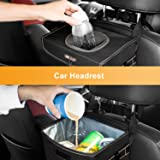 BOLTLINK Car Trash Can with Lid, Car Trash Bag