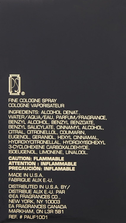 Ps By Paul Sebastian For Men. Fine Cologne Spray 4.0 Oz