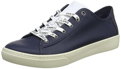 Tommy Jeans Light Leather Low Men, Zapatillas para Hombre: Amazon.es: Zapatos y complementos