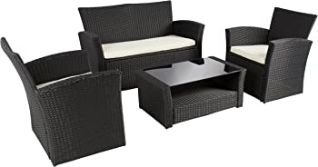 Best Choice Products 4pc Outdoor Patio Garden Sofa Set