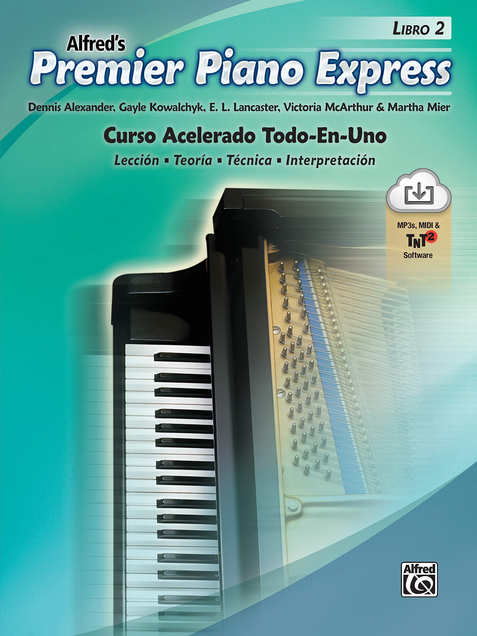Premier Piano Express, Libro 2 ESP : Curso Acelerado Todo-En ...