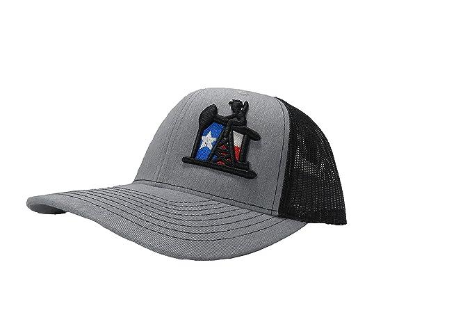 Richardson 3D Puff Oilfield Life Texas Hat Cap Snapback Adjustable ... cc1946b106d7