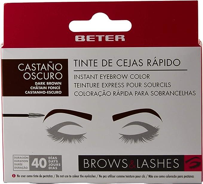 Beter Brow Instant Tinte Cejas Rápido Castaño Oscuro Set - 5 ...