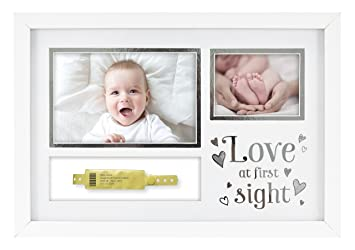 Amazoncom Mcs Love At First Sight Baby Hospital Id Bracelet And
