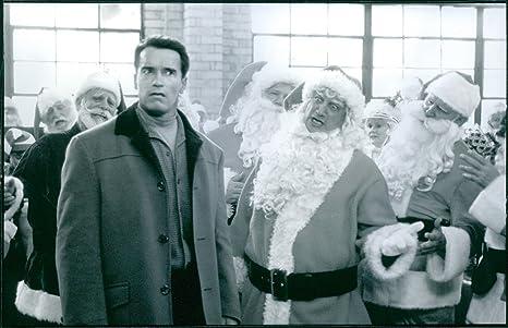 Vintage foto de una foto de Arnold Schwarzenegger como Howard Langston y James Belushi en la