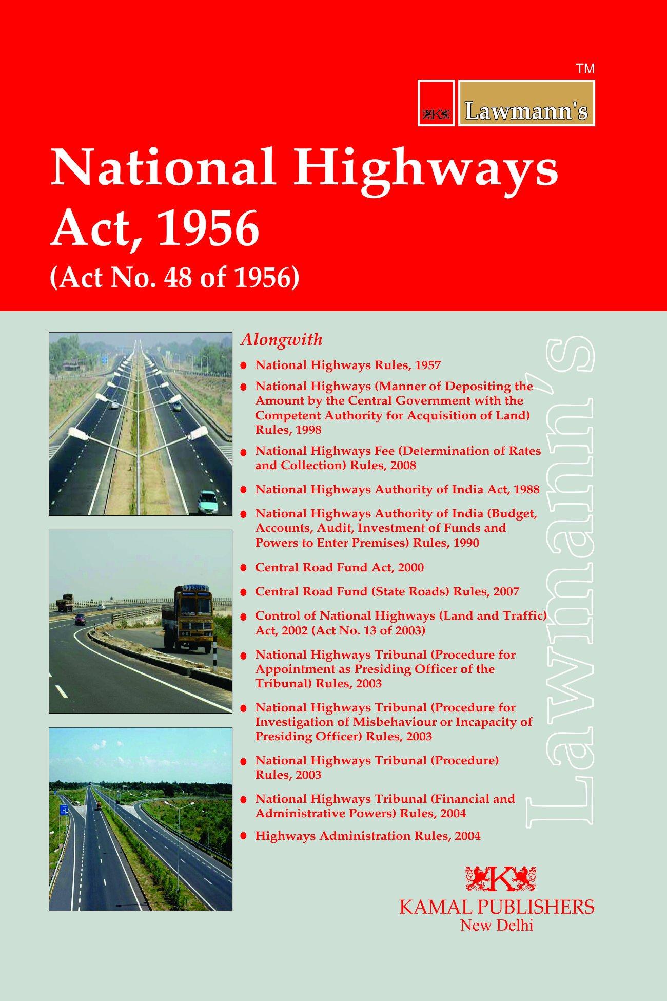 NATIONAL HIGHWAYS ACT 2002 EPUB
