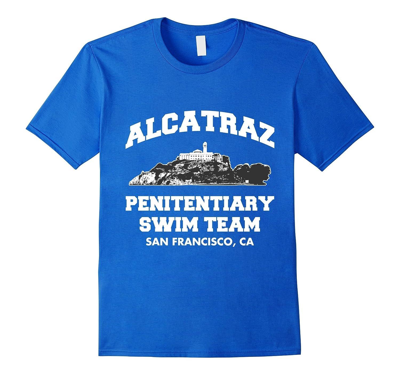 Alcatraz Penitentiary Swim Team T-Shirt-FL