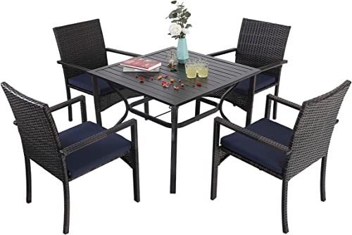 Sophia William Outdoor Patio 5 Pieces Dining Set