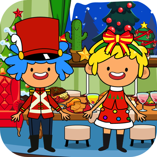 My Pretend Christmas - Friends and Family Xmas Dinner Party (Party City Holiday)