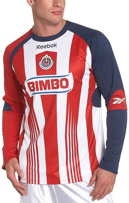 9c7e6576d7d Buy Chivas De Guadalajara Long-Sleeve Home Jersey, Flash Red, X ...