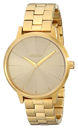 Nixon Unisex Kensington All Gold Watch