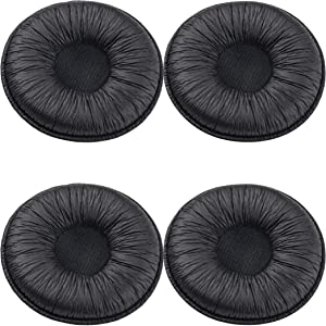 【4 Pack】 Ear Cushions Spare Replacement Foam Telephone Accessories 2 inches(50mm) for Office Telephone Headsets H251 H251N H261 H261N H351 H351N H361 H361N