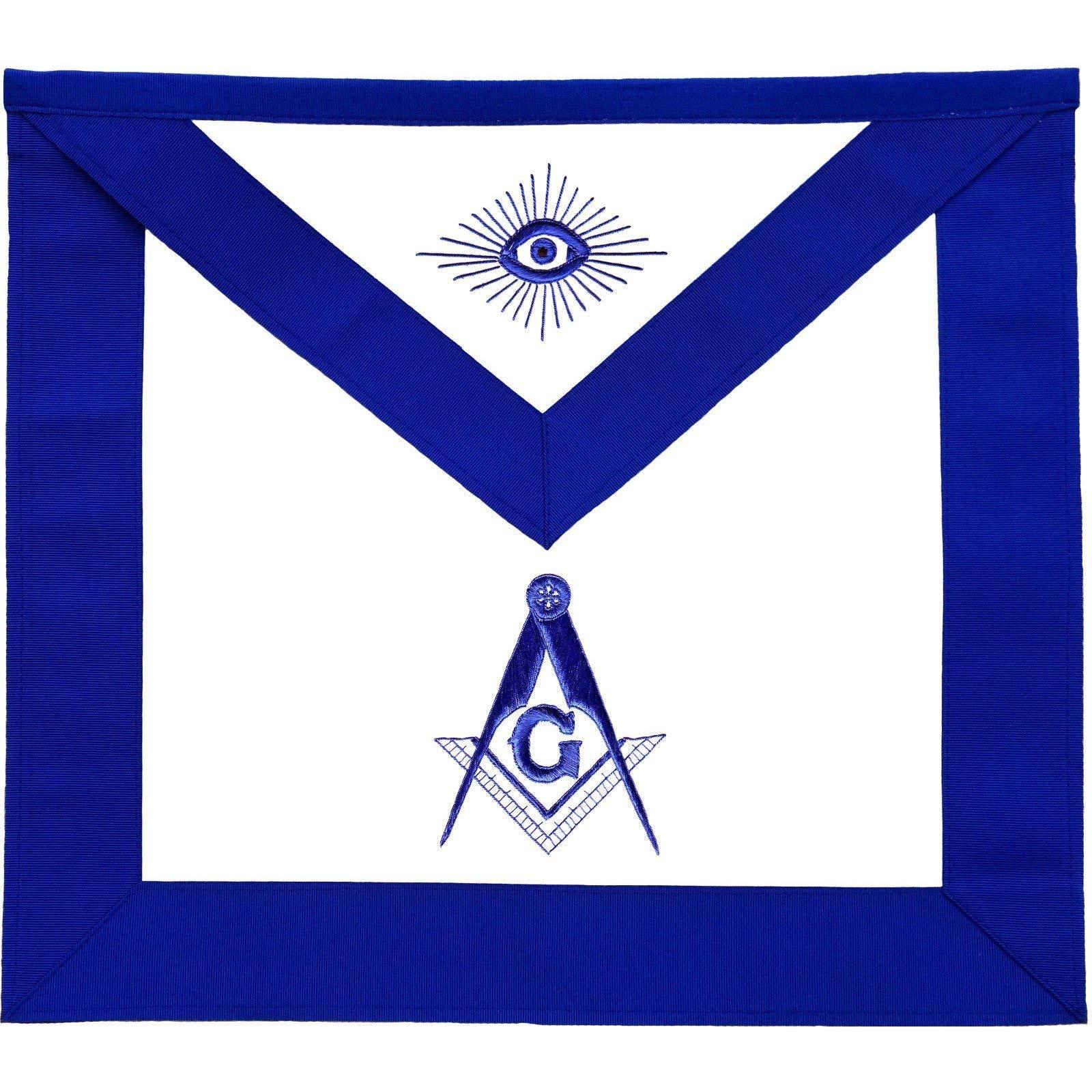 Bricks Masons Masonic Master Mason Apron Blue Lodge-Lambskin by Bricks Masons