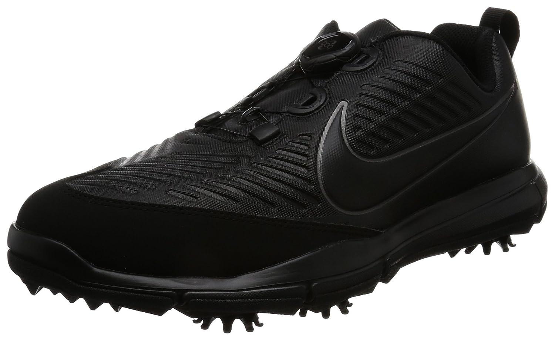 [ナイキゴルフ] ゴルフシューズ エクスプローラー 2 ボア 849959 B002EAN31C 25.5 cm 3E ブラック/ブラック/メタリックダークグレー