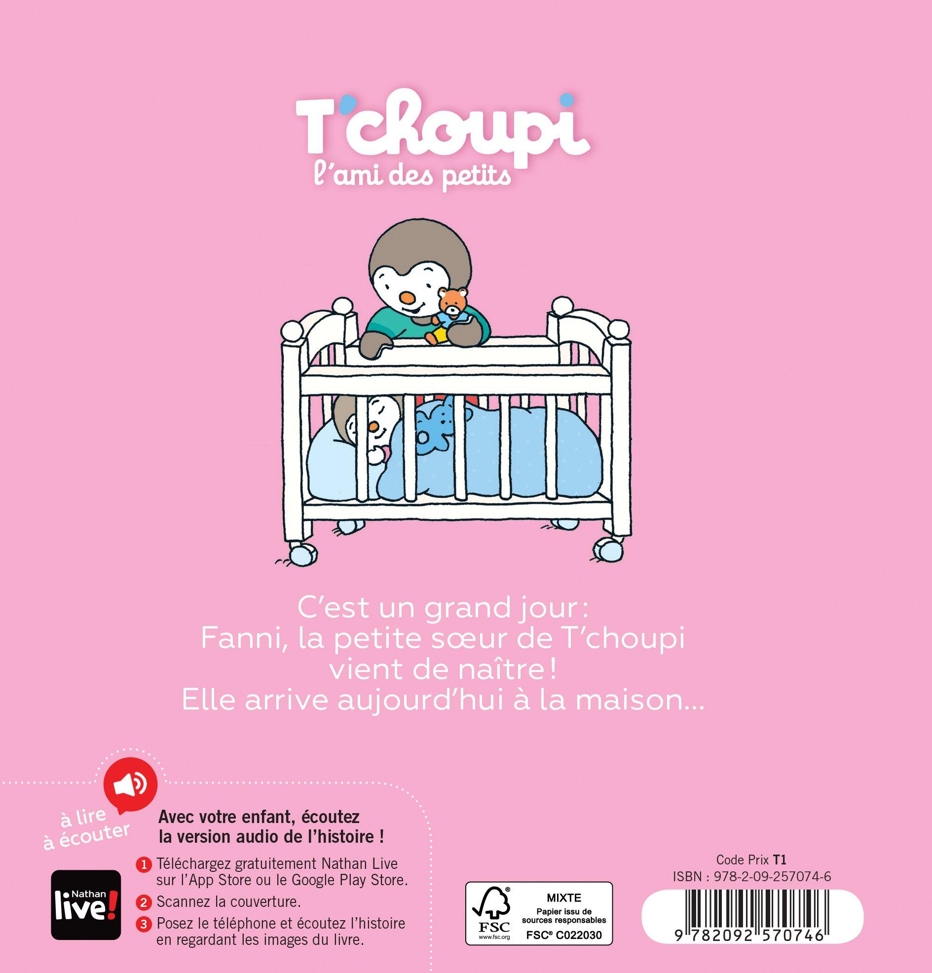 Tchoupi a une petite soeur (French Edition)