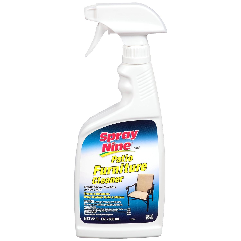 Amazon com spray nine 15606 patio furniture cleaner 22 oz automotive