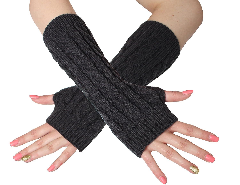 BRUBAKER Armstulpen Handschuhe Strick