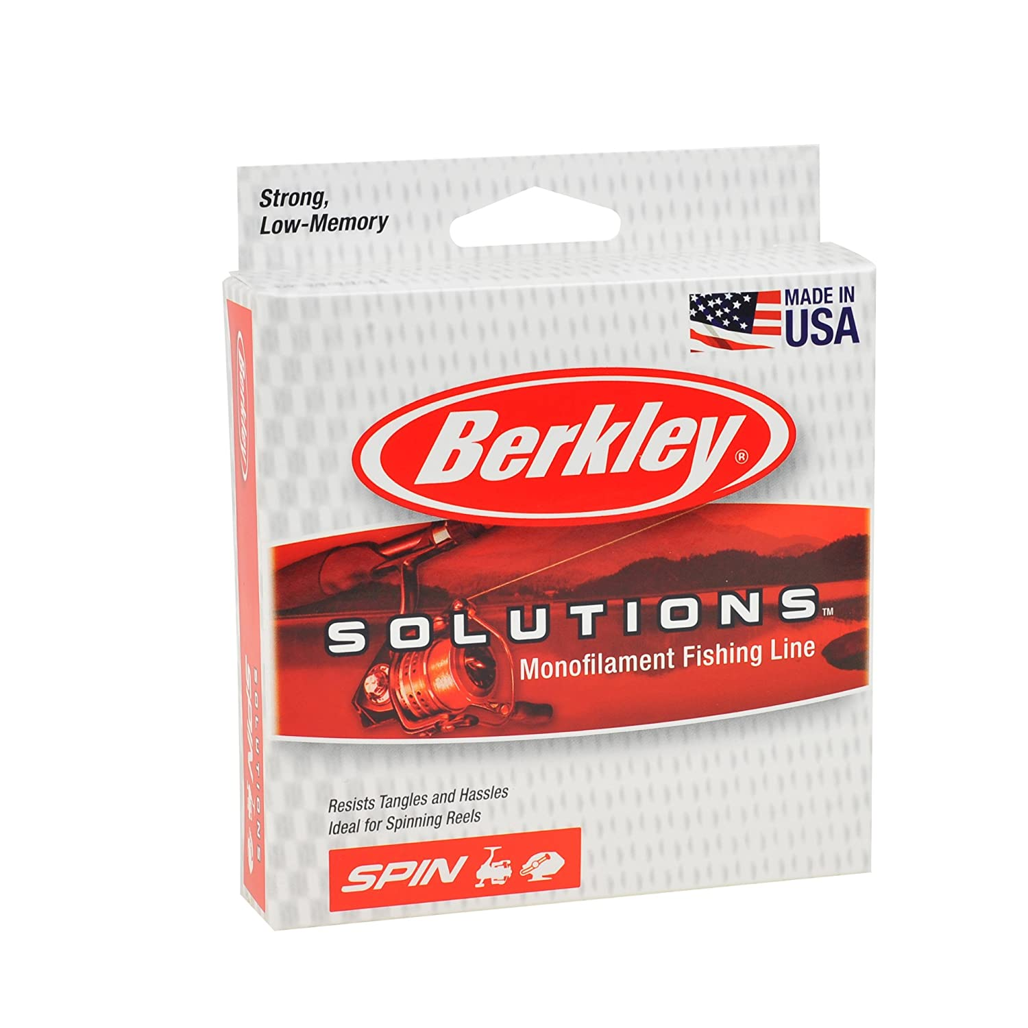 Amazon.com : Berkley Solutions Spinning Monofilament Fishing Line ...