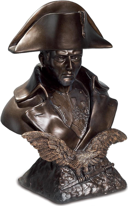 AVENUELAFAYETTE Napoleon-Statue Pro Ruffony, Büste, 24 cm