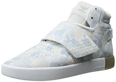 pretty nice 43d09 f84d5 adidas Originals Women s Tubular Invader Strap Fashion Running Shoe White  LGH Solid Grey 11 M US