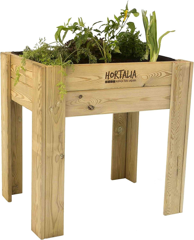 Mesa de cultivo Garden Brico Hortalia 200 x 80 x 40 cm: Amazon.es ...
