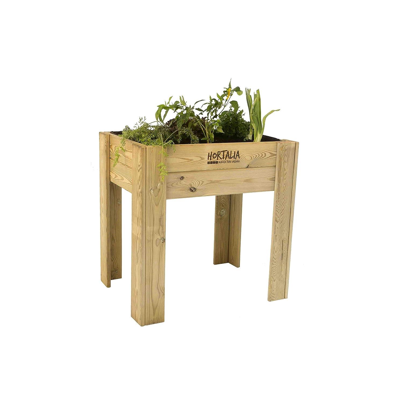 Mesa de cultivo Garden Brico Hortalia 80 x 40 x 80 cm: Amazon.es ...