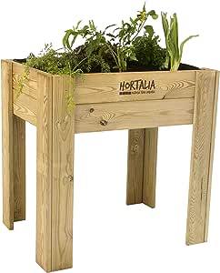 Mesa de cultivo Garden Brico Hortalia 120 x 80 x 40 cm: Amazon.es ...