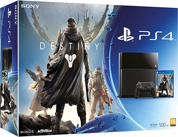 PlayStation 4 - Consola 500 GB + Destiny: Amazon.es: Videojuegos