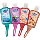 PURELL Hand Sanitizer Advanced - Travel Sized Jelly Wrap Portable Sanitizer Bottles, Winter Scents - (1 oz, Pack of 24)