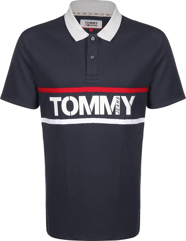 Tommy Hilfiger Polo para Hombre TJ Bold con Logo GRÁFICO 7779-C87 ...