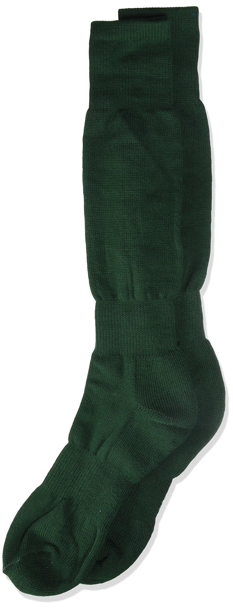 Junior H/T Baseball Socks, Dark Green, 6-8 1/2'' by TCK