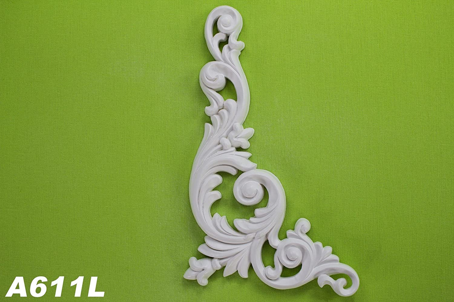 1 parete elemento Stuck parete ornamento parete interna parete antiurto 260 X 126 mm, a611l Grand Decor