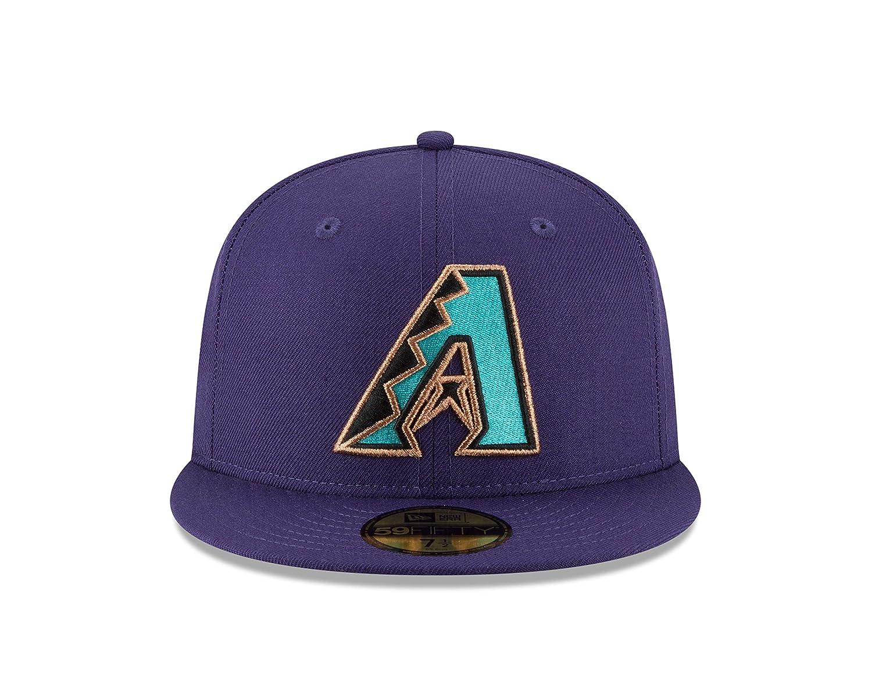 92a7b91e32c8a Amazon.com   New Era Arizona Diamondbacks World Series Pin 2001 Champions  Fitted 59Fifty MLB Hat   Sports   Outdoors