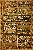 Zelda Story Of The Hero Time Legend Mythology Timeline Video Game Gamer Poster 24x36