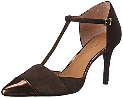 Calvin Klein Women's Ginae Dress Pump, Espresso/Espresso, ...