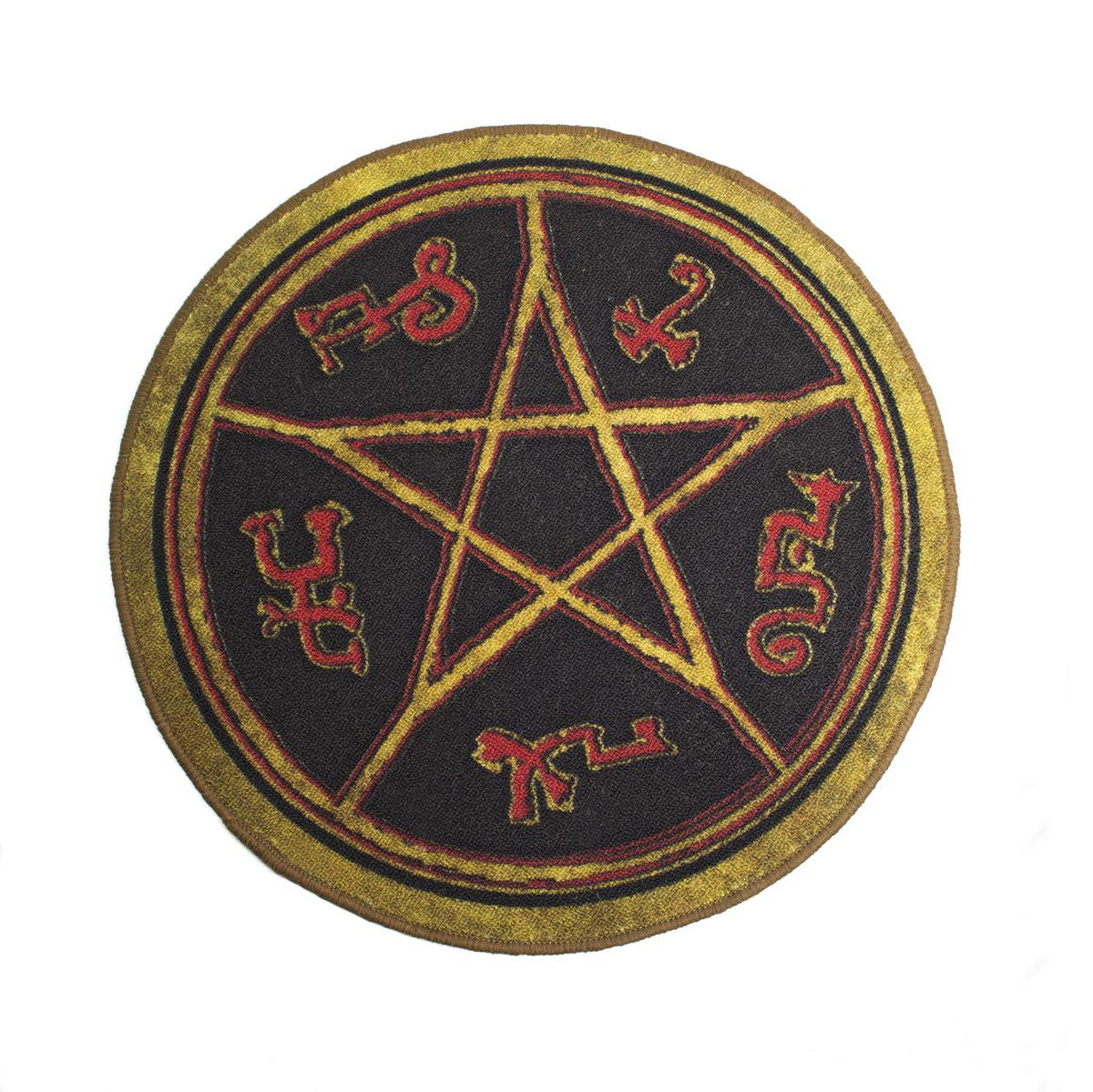 Amazon Qmx Supernatural Devils Trap Doormat Toys Games
