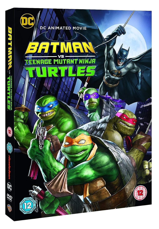 Amazon.com: Batman vs Teenage Mutant NinjaTurtles [DVD ...