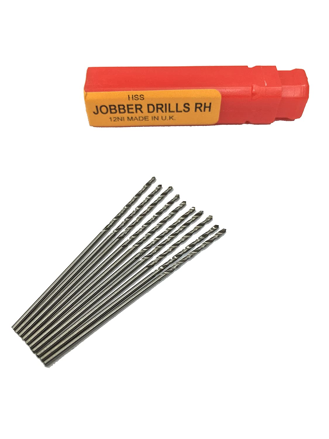 0.37mm Package of 10 HSS Jobbers Twist Drill Size # 79 Dormer 0.015 Made in The U.K.