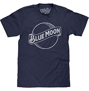 d026efd6 Tee Luv Blue Moon Beer T-Shirt - Blue Moon Brewing Company Logo Shirt