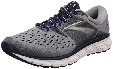 f606424a6fe1c Brooks Men s Glycerin 16 Grey Navy Black 8 EE US