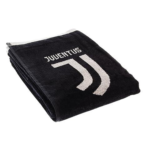 F.C. Juventus Official Product Toalla Oficial JUVENTUS F.C. nuevo logo toalla playa Juve Esponja Double 400 gr/m2 70 x 135 cm: Amazon.es: Hogar