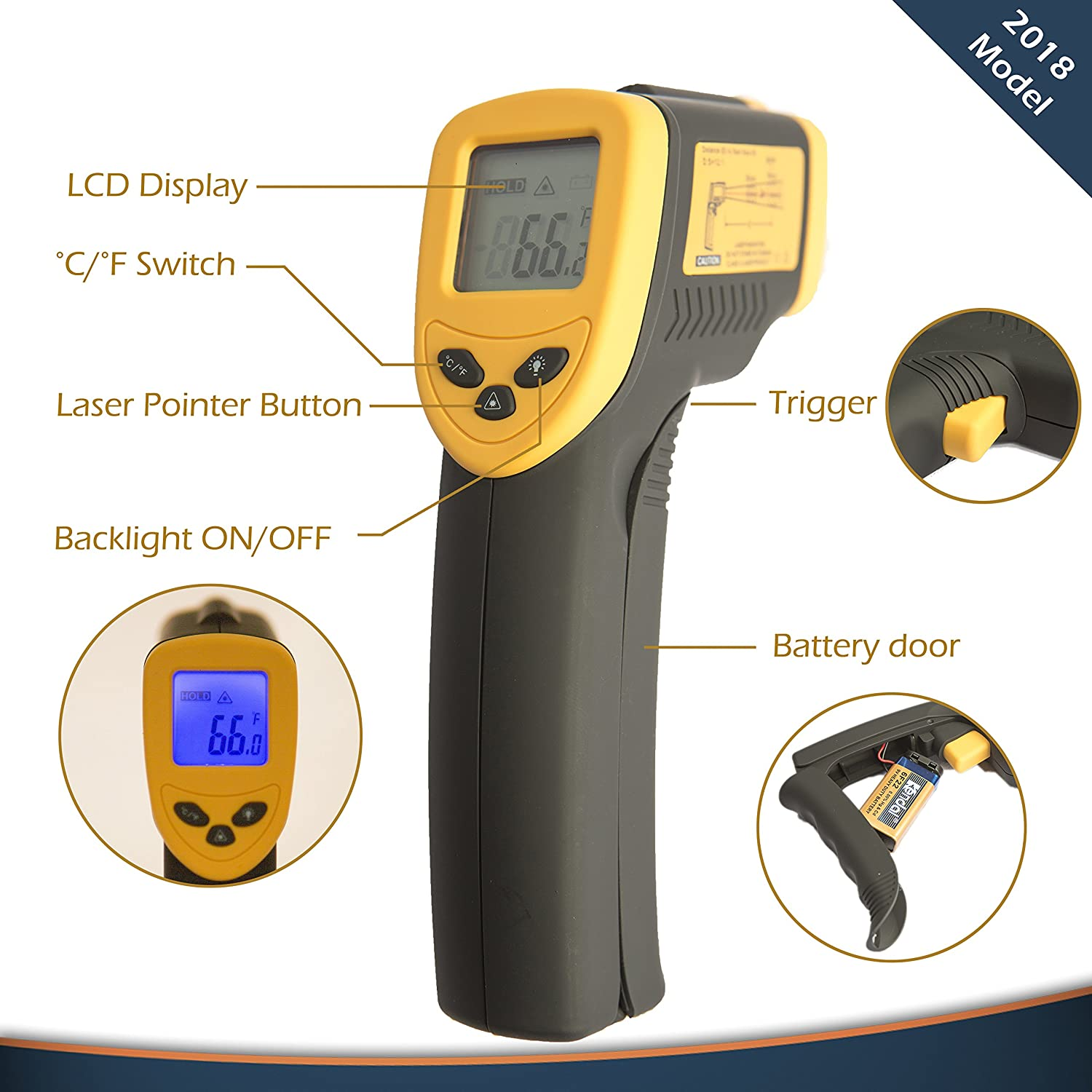 Contact thermometer series TK, model 5.06