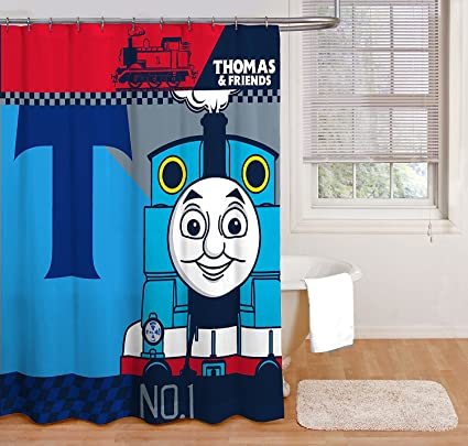 Image Unavailable Not Available For Color Mattel Thomas The Tank Engine Block Shower Curtain
