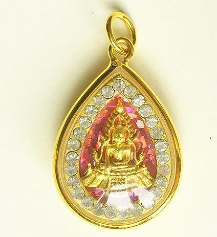 Amazon amulets necklace jewish phra buddha chinnaraj thai amulets necklace jewish phra buddha chinnaraj thai famous buddhist pendant lucky rich happy love thai aloadofball Choice Image