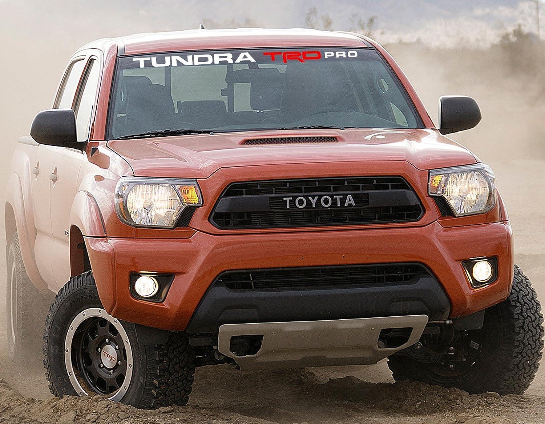 Premium Windshield Banner Vinyl Decal Sticker for Tundra Toyota SR5 TRD PRO