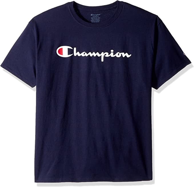 Champion Mens Classic Jersey Graphic T-Shirt