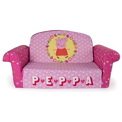 Amazon.com: Marshmallow Furniture Children\'s 2 in 1 Flip Open Foam ...